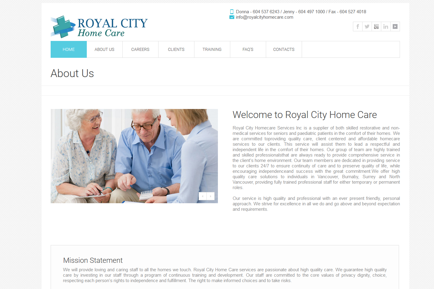 Royal City Care Home Project-2