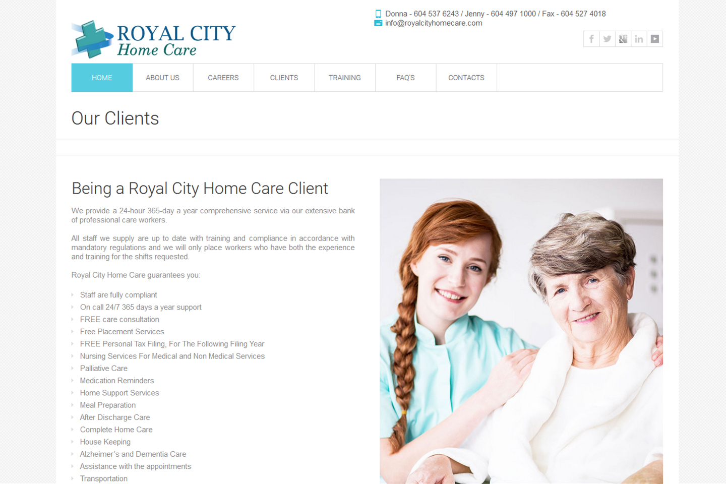 Royal City Care Home Project-3