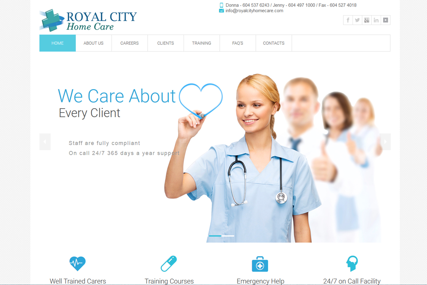 Royal City Care Home Project-4