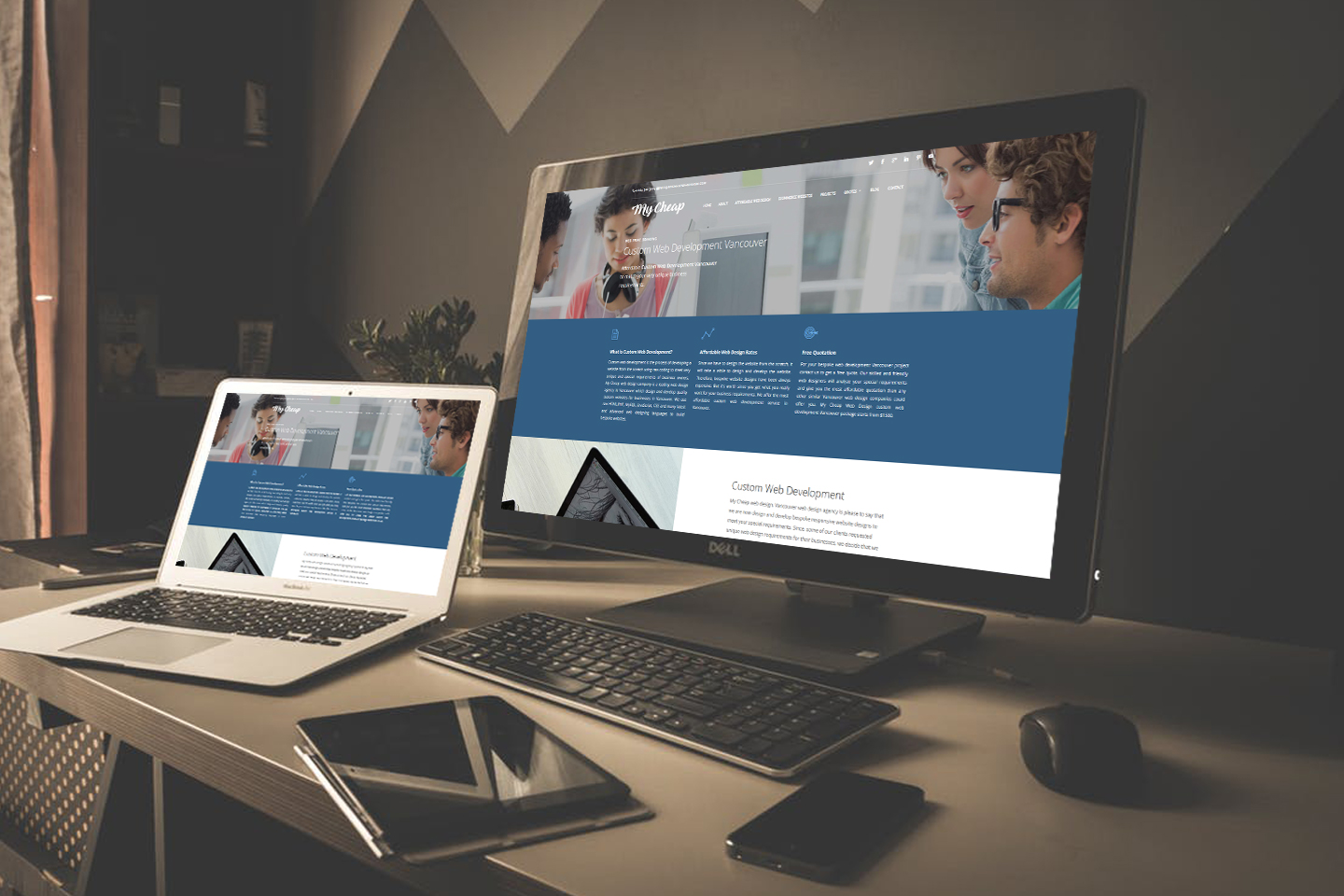 Custom Web Development Vancouver Vancouver Web Design
