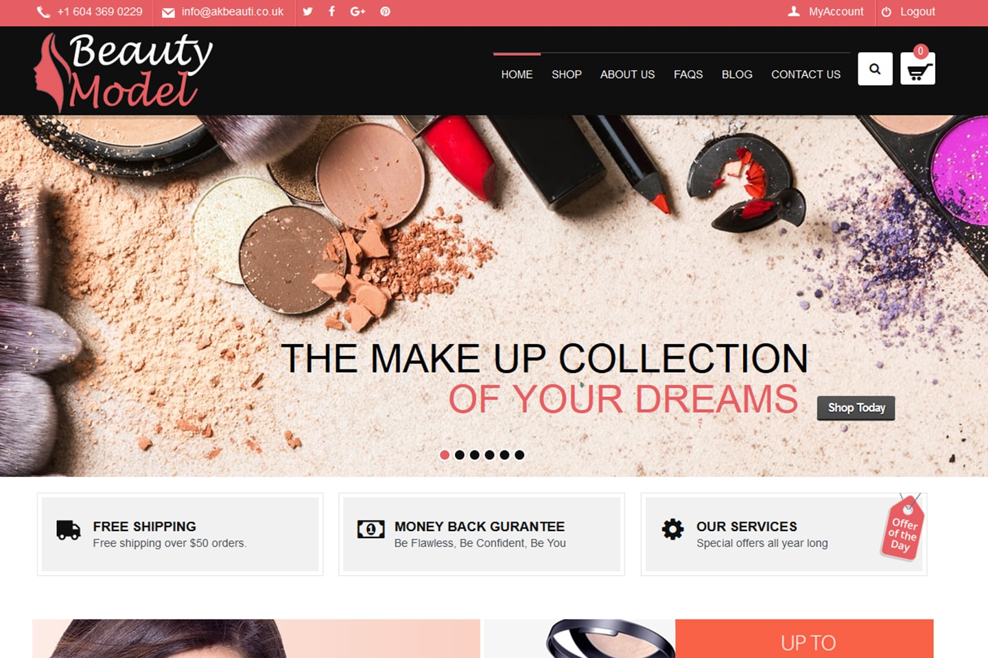 eCommerce Web Design Project1