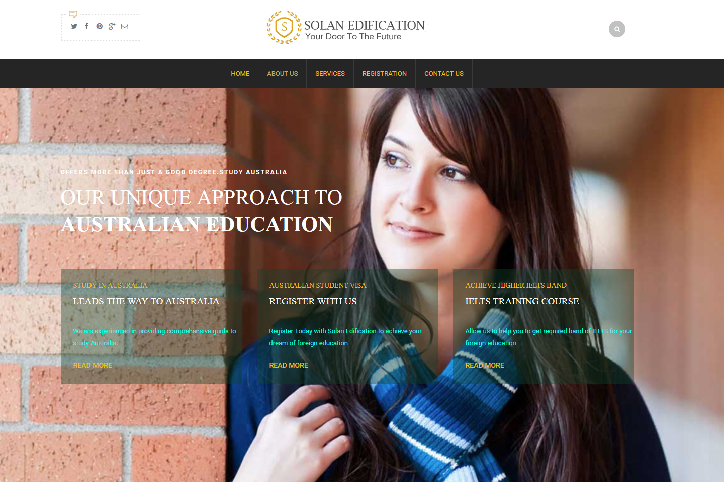 Solan Edification Home Page